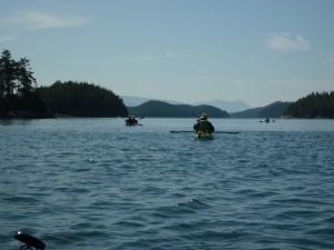 Kayaking with Adventuress Sea Kayaking