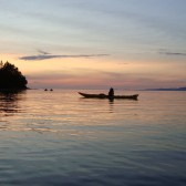 A relaxing evening with Adventuress Sea Kayaking