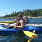 Family fun with Adventuress Sea Kayaking