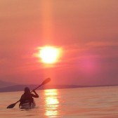 Paddling into the Sunset with Adventuress Sea Kayaking