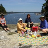 Time for Lunch with Adventuress Sea Kayaking